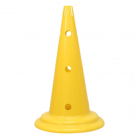 MARKER CONE WITH STAND FOR POLE AND RING CIRCULAR BASE